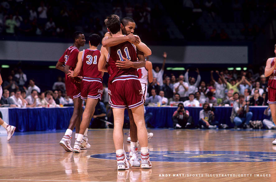 New Mexico State University vs Loyola Marymount University, 1990 NCAA Playoffs West Regional First Round
