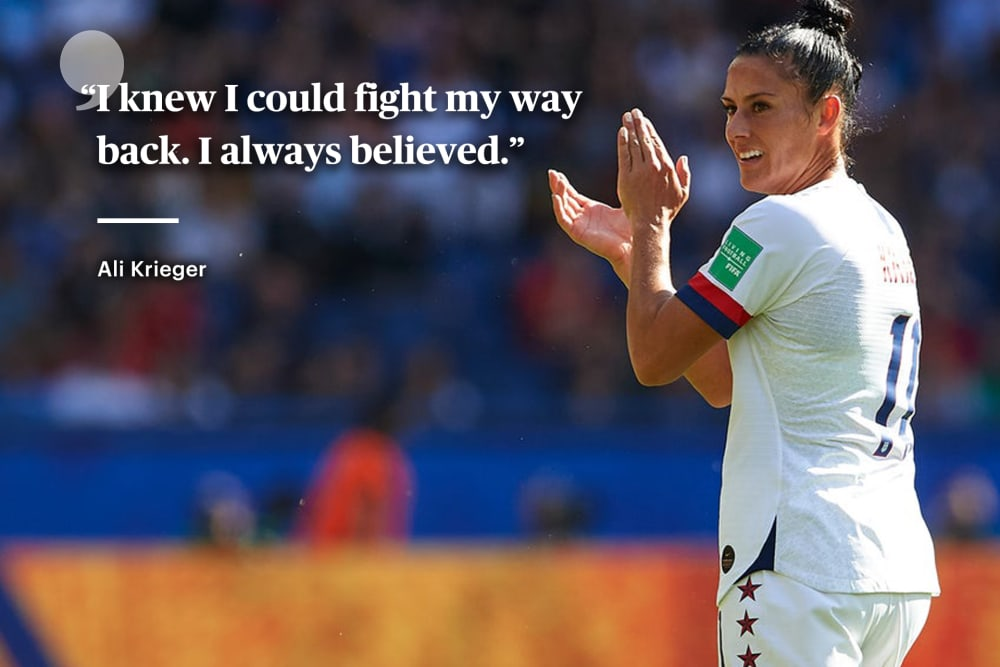 I'm Good Right Now   By Ali Krieger
