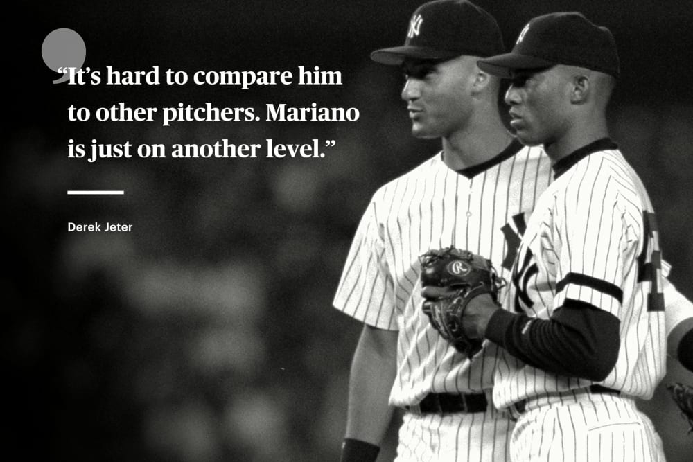 Image result for mariano rivera jeter