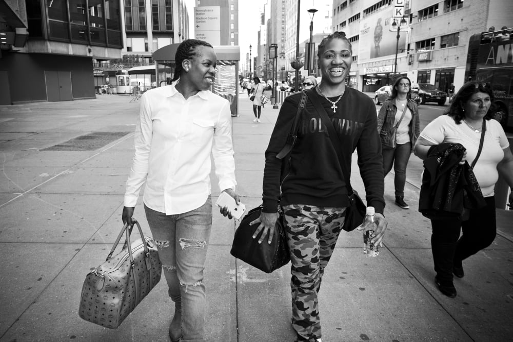 NY Liberty versus theWashington Mystics on September 11, 2015 at Madison Square Garden in New York City. The Liberty lost 55 to 82. (Photo by Annie Flanagan for The Players Tribune)