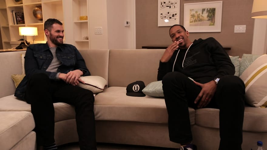 Kevin Love and Channing Frye Share Stories About Mental Health