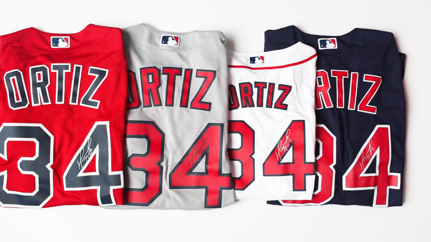 Enter to Win a Signed David Ortiz Jersey!