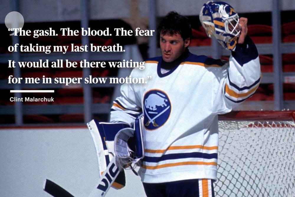 Bleeding Out By Clint Malarchuk