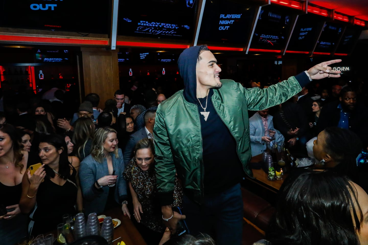 Photos: Players' Night Out