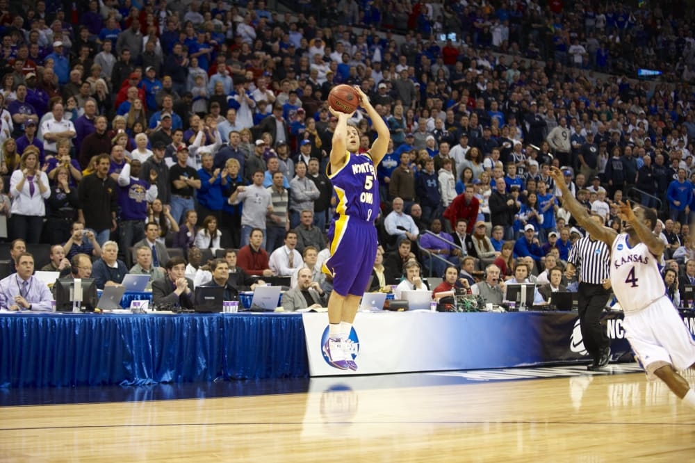 University of Kansas vs University of Northern Iowa, 2010 Midwest Regional Round 2