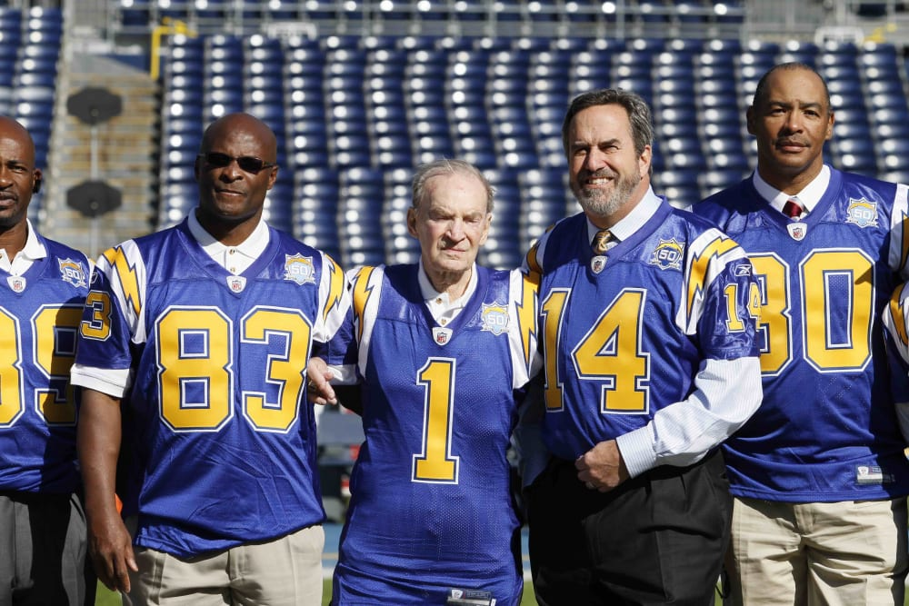 John Jefferson, Don Coryell, Dan Fouts, Kellen Winslow