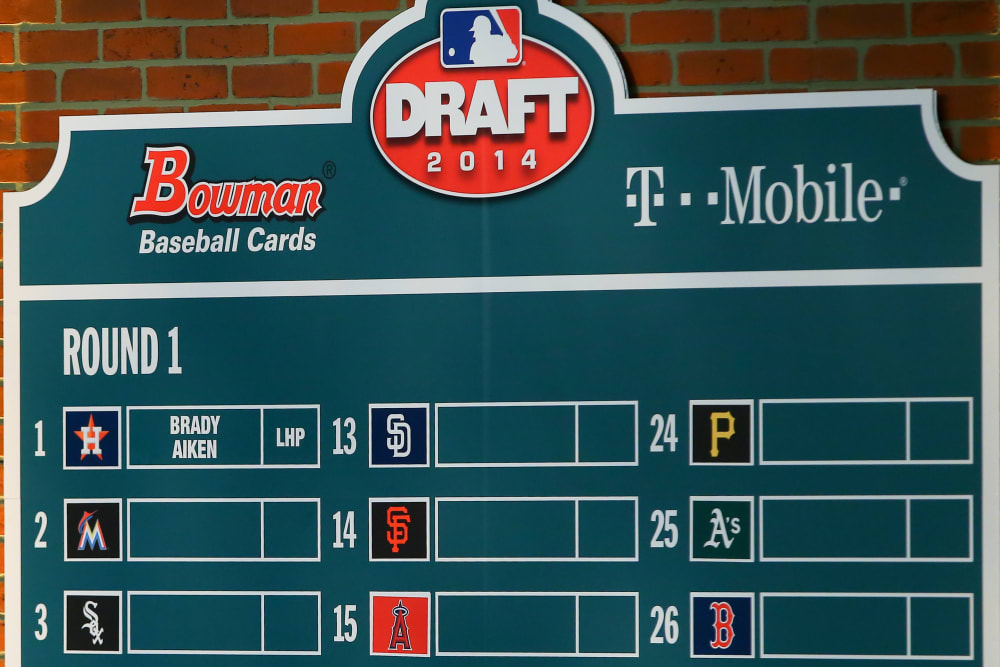 MLB: JUN 05 First-Year Player Draft