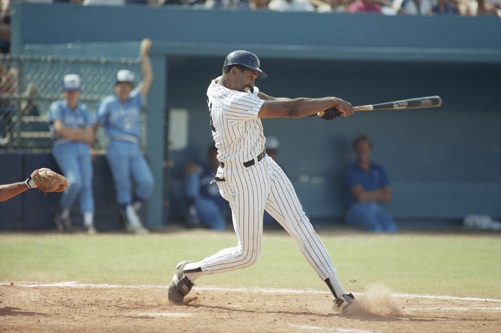 Yankees Dave Winfield 1986