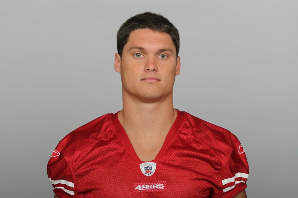 This is a 2011 photo of Chris Hogan of the San Francisco 49ers NFL football team. This image reflects the San Francisco 49ers active roster as of Thursday, July 28, 2011 when this image was taken. (AP Photo)