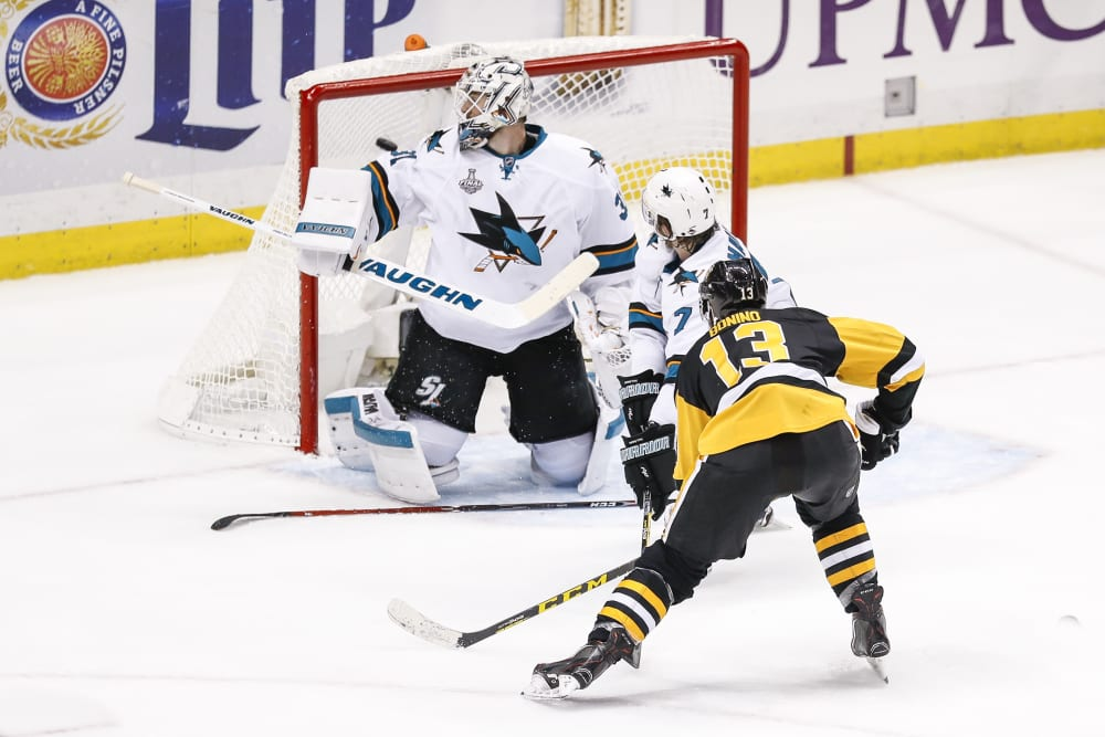 NHL: MAY 30 Stanley Cup Final - Game 1 - Sharks at Penguins