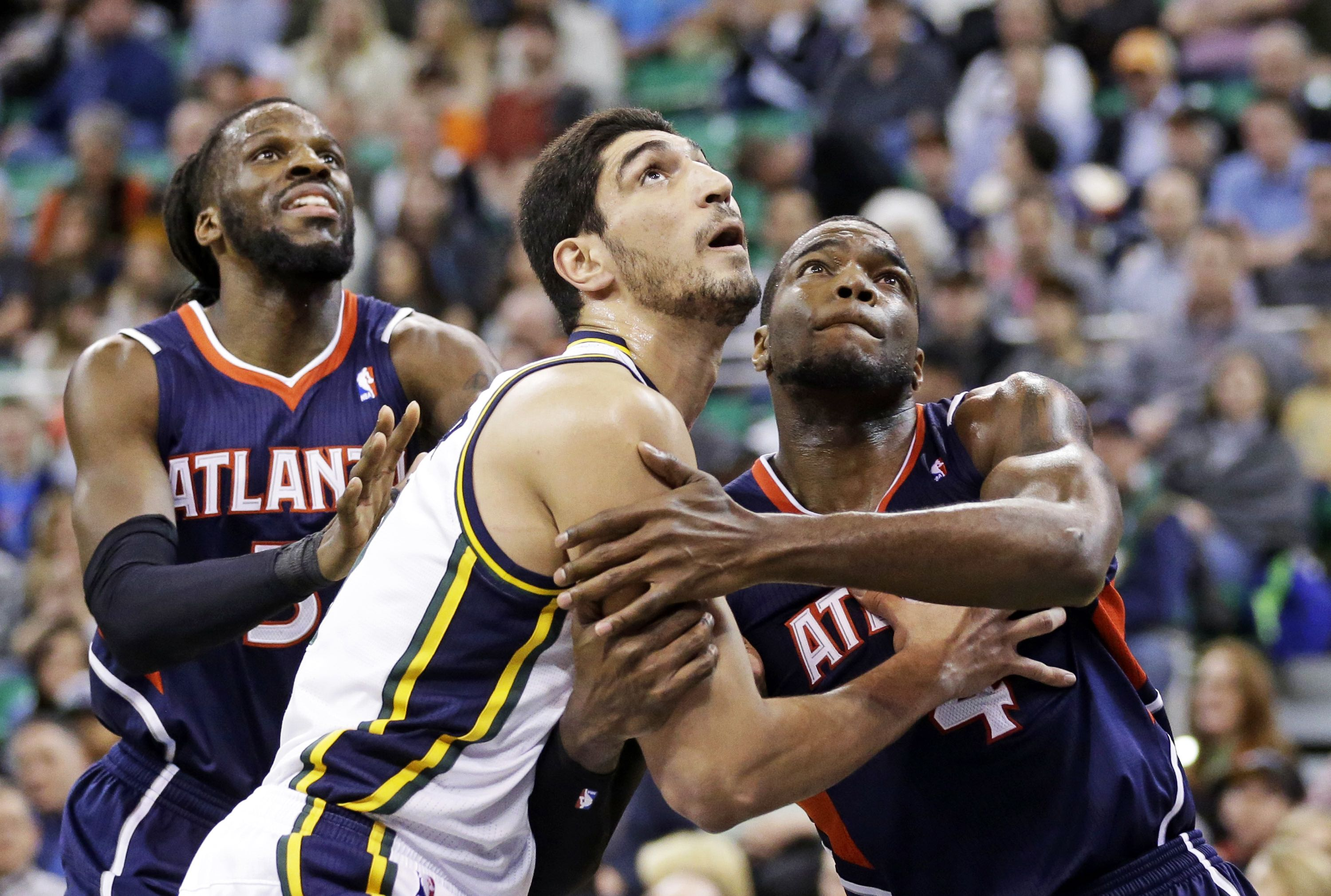 Enes Kanter, DeMarre Carroll, Paul Millsap