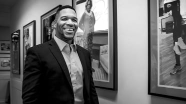 On the Line: Michael Strahan