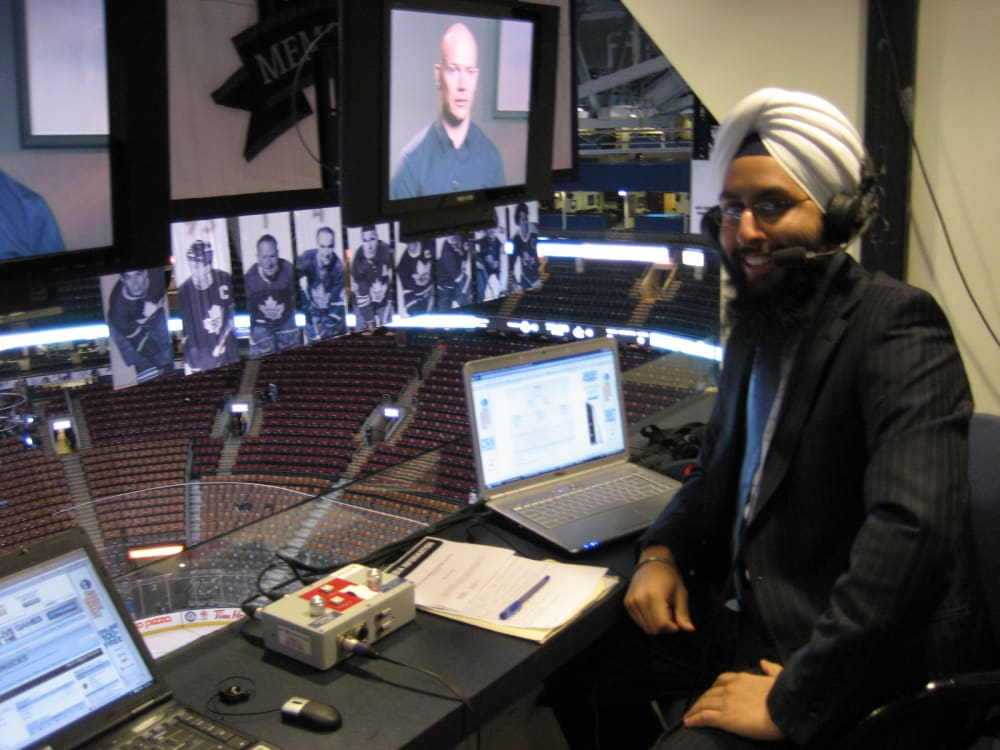 Hockey Night in Canada, with Mr  Chapared Shot | By