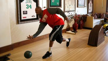 Real Fan Life: Bowling with Paul Pierce
