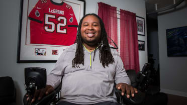 On the Line: Eric LeGrand