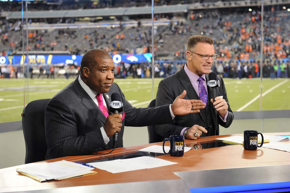 EAST RUTHERFORD, NJ - FEBRUARY 2: xxx of Fox Sports at Super Bowl XLVIII at MetLife Stadium on February 2, 2014 in East Rutherford, NJ. (Photo by Frank Micelotta/PictureGroup)