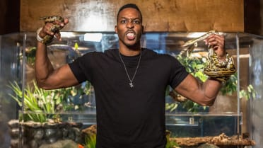 Real Fan Life: Dwight Howard's Exotic Snakes