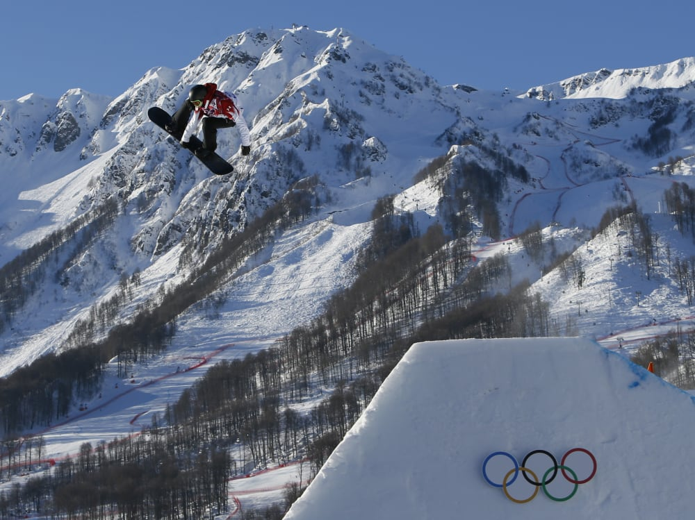 Olympics: Snowboarding-Men's Slopestyle Semifinals