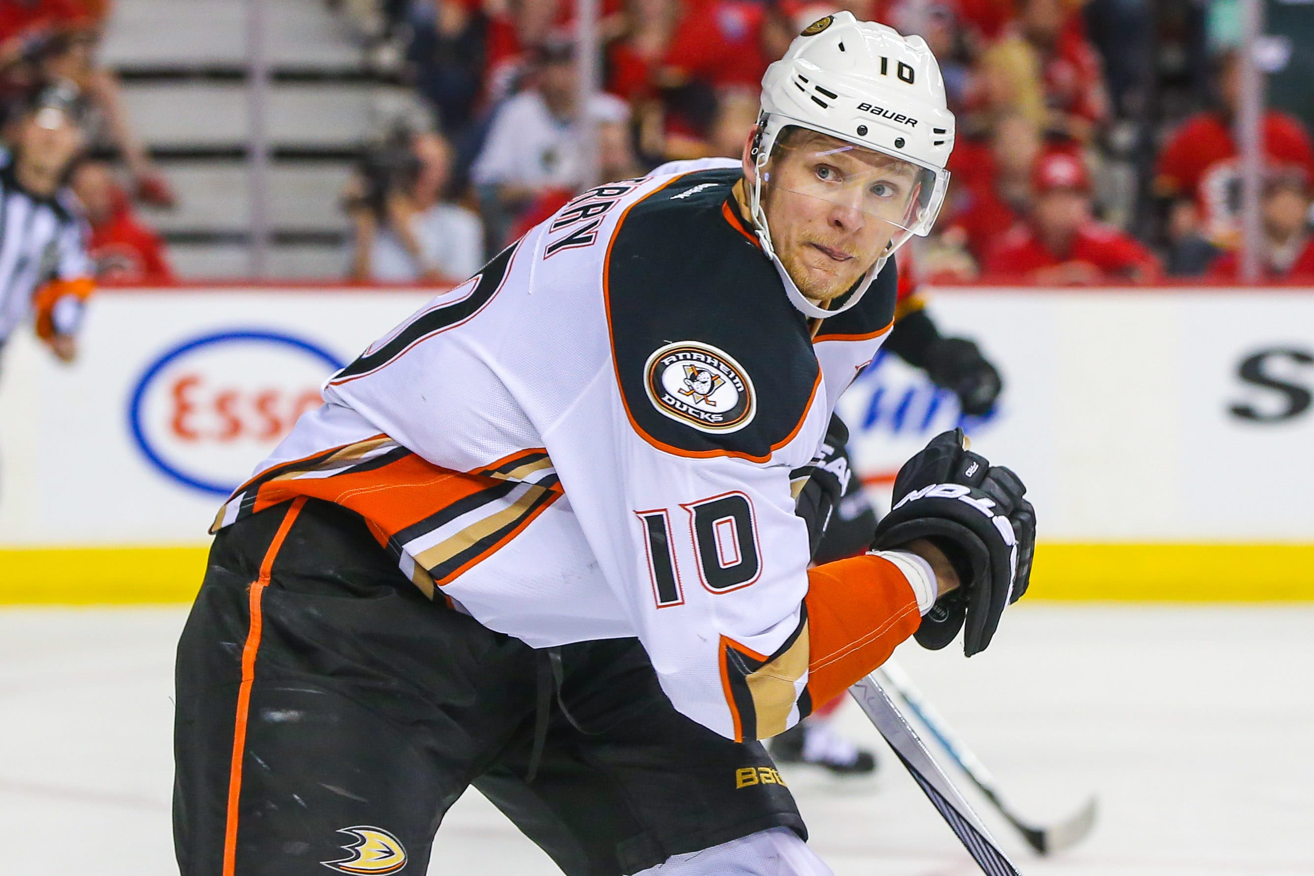 NHL: Stanley Cup Playoffs-Anaheim Ducks at Calgary Flames