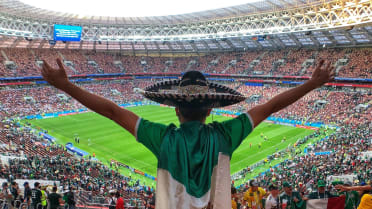 Photos from the Seats at the Mexico vs. Germany Match