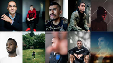 Faces of the World Cup