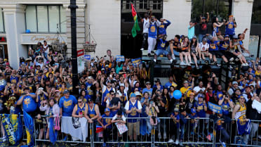 Behind The Scenes at the Golden State Warriors' 2018 Championship Parade