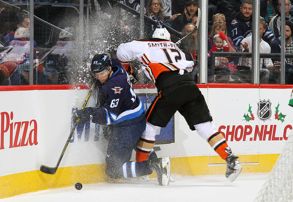 Anaheim Ducks v Winnipeg Jets